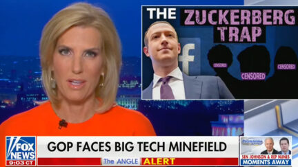 Laura Ingraham Says GOP Walking Into a Trap on Facebook